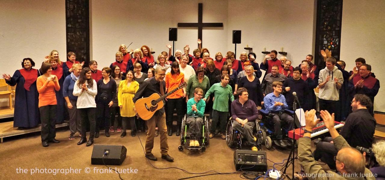 Impressionen vom Konzert mit Herzklopfen & Light ofLife