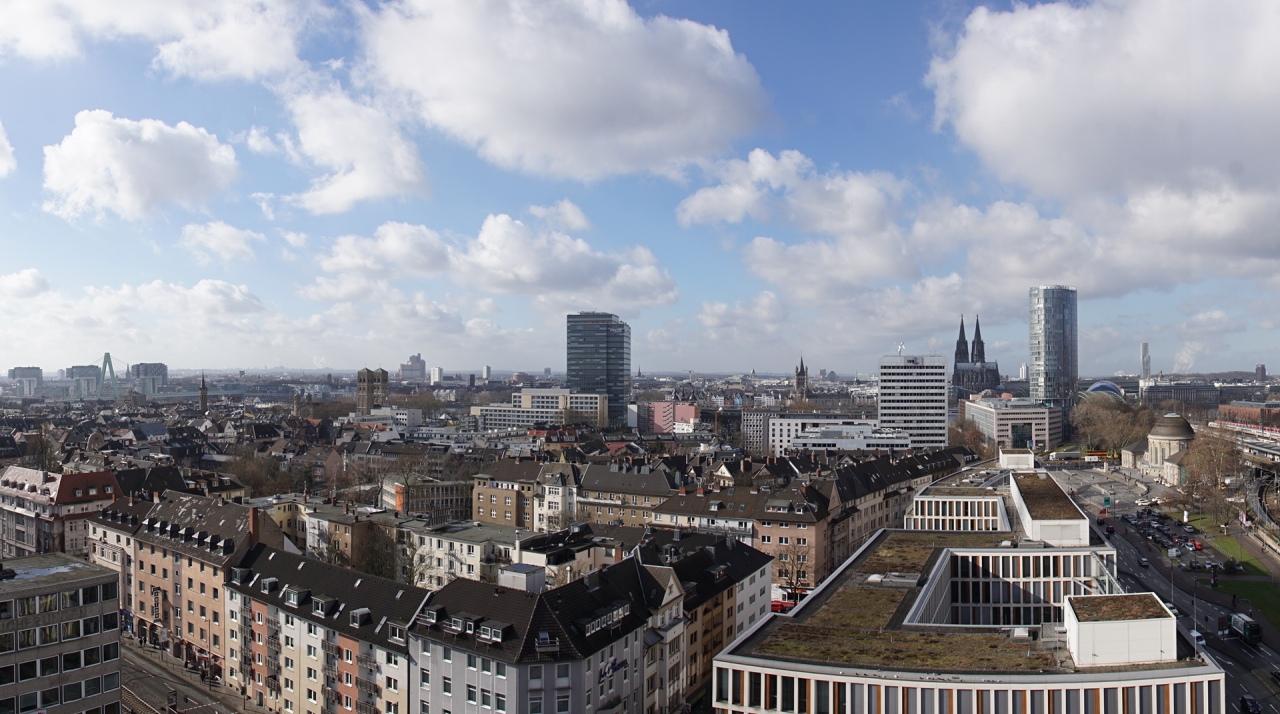 Köln von oben….